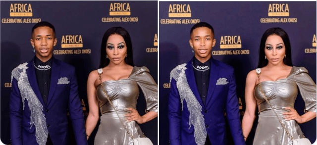 Lasizwe doesn't care about Khanyi Mbau photoshopping his Face, defends Her from Twitter attack