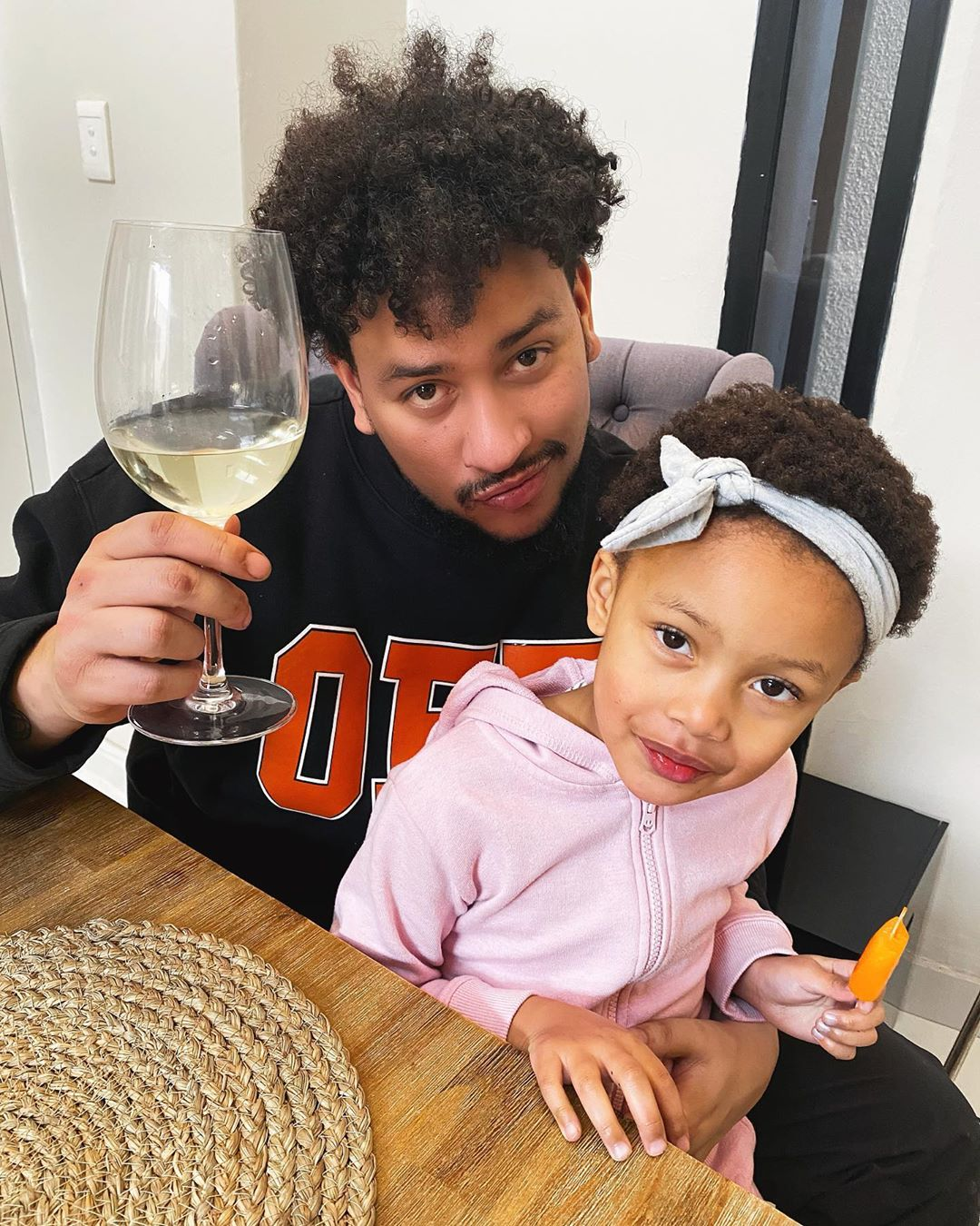 AKA had one of the best Father's day celebration from his daughter, Kairo Forbes.