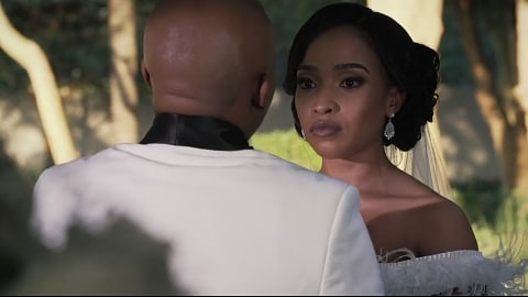 All eyes were glued to Mzansi Magic's: Siyanda & Kagiso's Wedding didn't end well but they still looked amazing