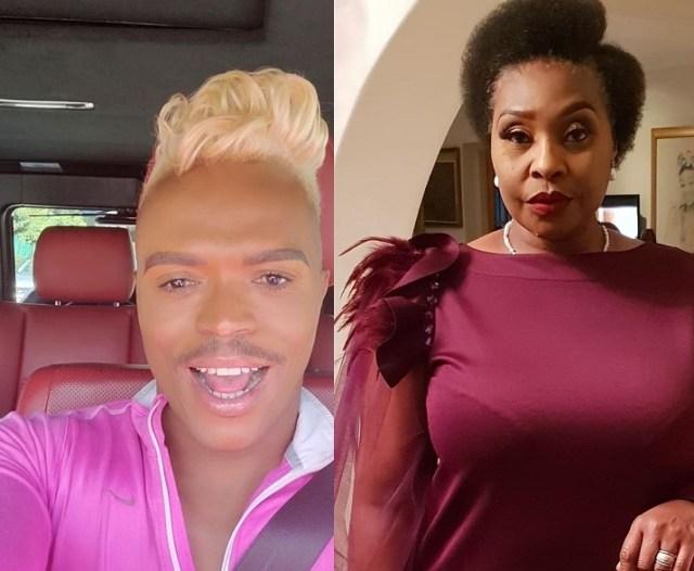Yvonne Chaka Angry with Somizi
