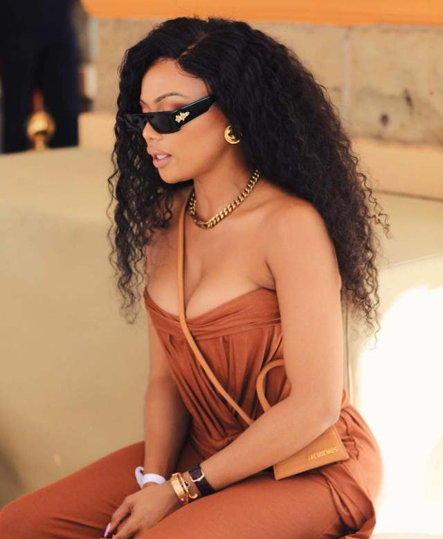 pics: Bonang causes storm on social media after stepping out with stunning looks