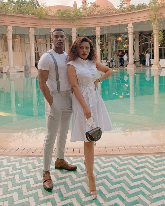 Blood and Water Star Thabang Molaba and Influencer Kefilwe Mabote Spark Dating Rumours – Photos