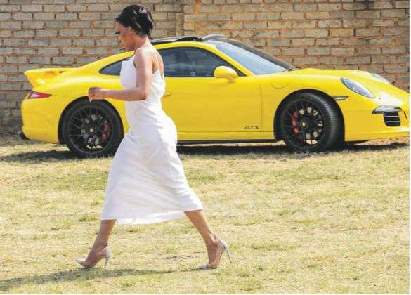 Khanyi Mbau to help SA youth with educational funding