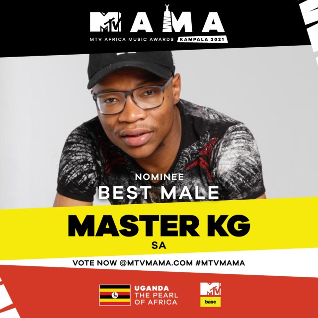 Master KG bags another nomination