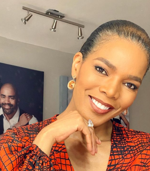 Actress Connie Ferguson Almost Suffers A Mild Panic Attack