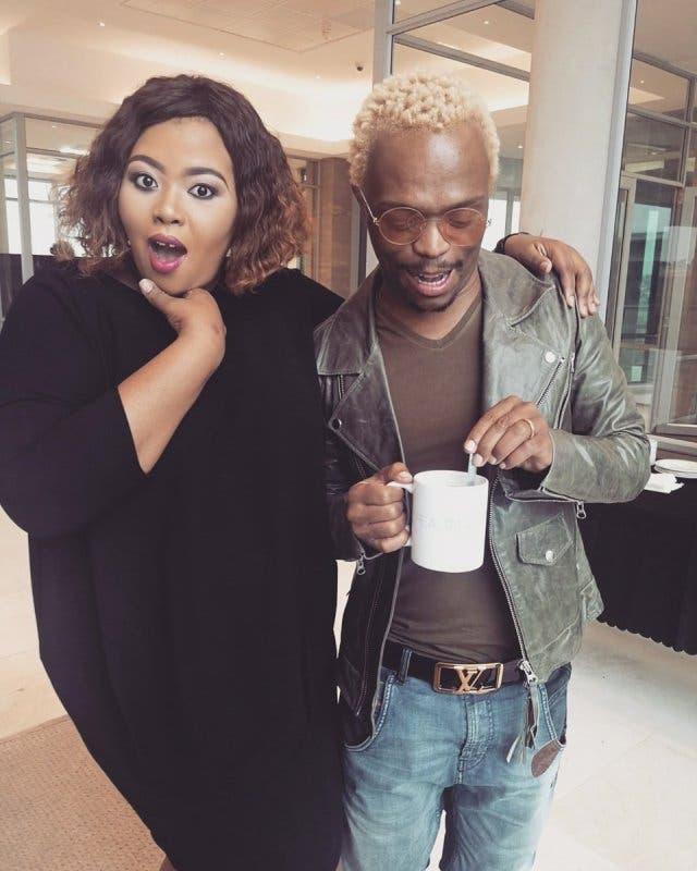 Anele Mdoda defends Somizi's behaviour towards the journalist