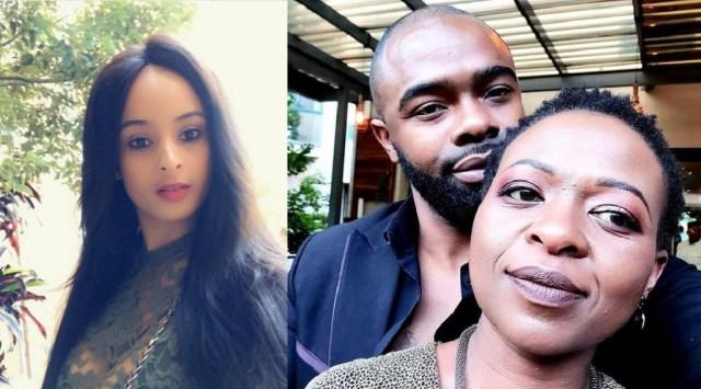 Pics: Exposed! Manaka Ranaka busted for snatching boyfriend Ntuthuko from actress Bronwyn Zungu