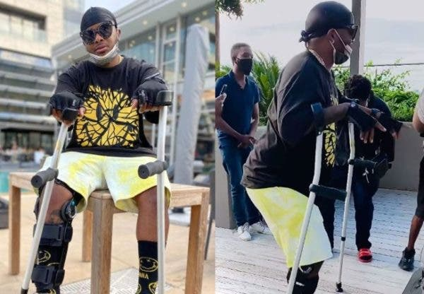 Watch: Mzansi worried as Major League's Bandile is now in a wheelchair