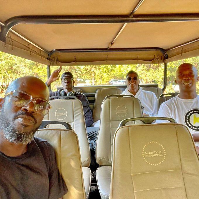 Inside Black Coffee's family getaway – Photos