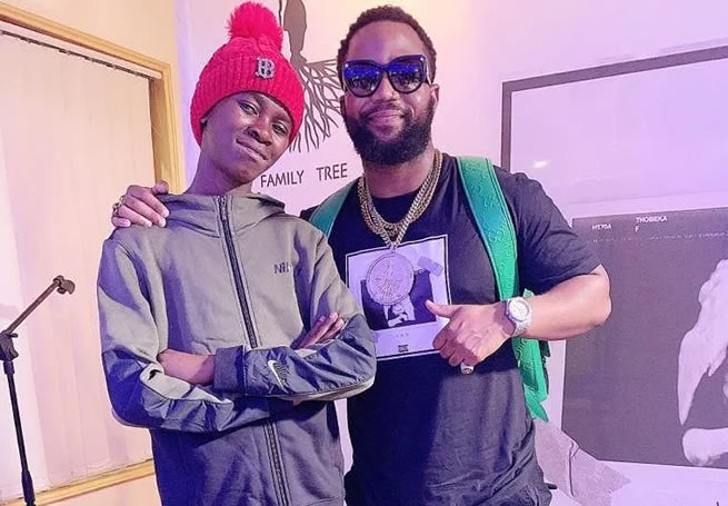 Rapper Cassper Nyovest shares his pain after homeless boy he rescued decides to return to the streets