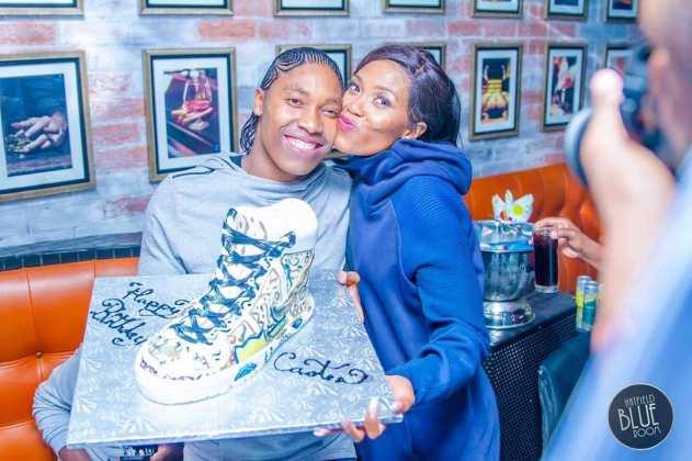 Caster Semenya celebrates birthday and wedding anniversary