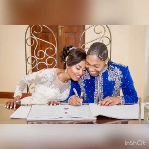 Caster Semenya celebrates birthday and wedding anniversary on same day