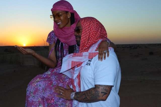 Connie Ferguson and Shona Ferguson Are Loved Up In Dubai