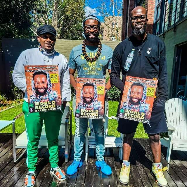 DJ Sbu breaks world record for the world's longest marathon radio show