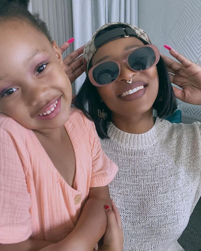 DJ Zinhle and Kairo Forbes serve mother daughter goals