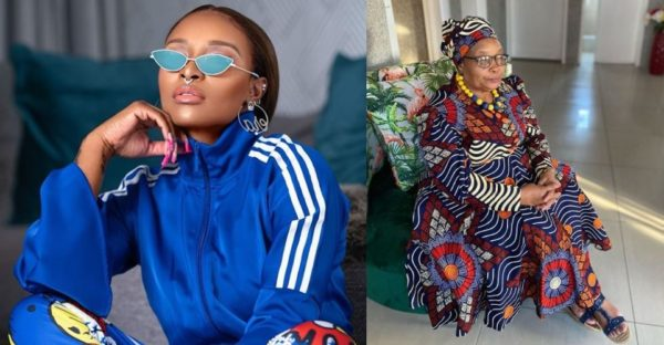 DJ Zinhle touching message to her mother as she celebrates birthday today