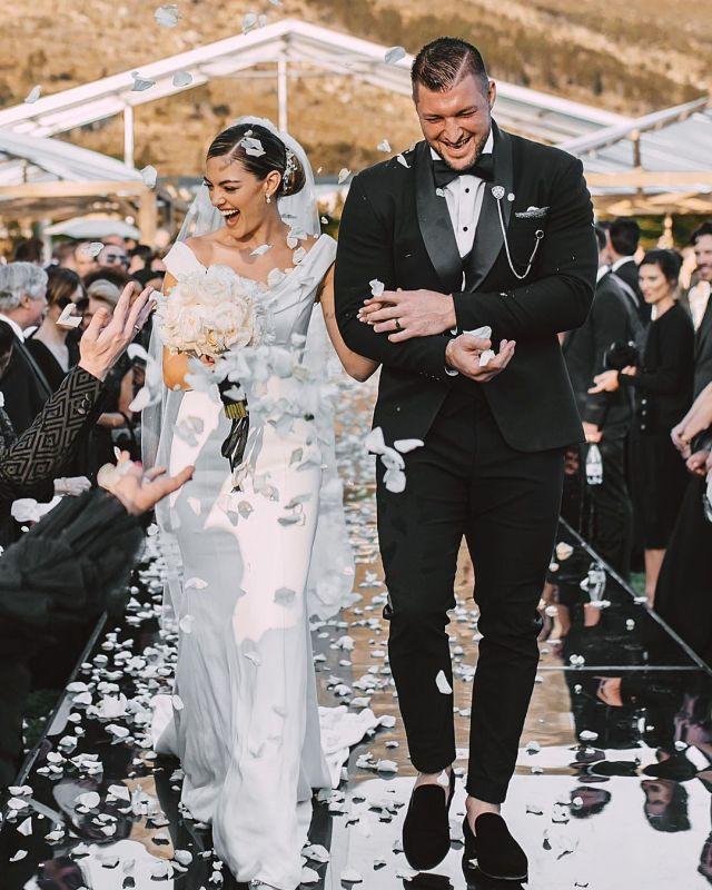 Demi-Leigh celebrates 1st wedding anniversary