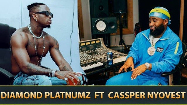 Watch: Cassper Nyovest and Diamond Platnumz in studio working on a new song