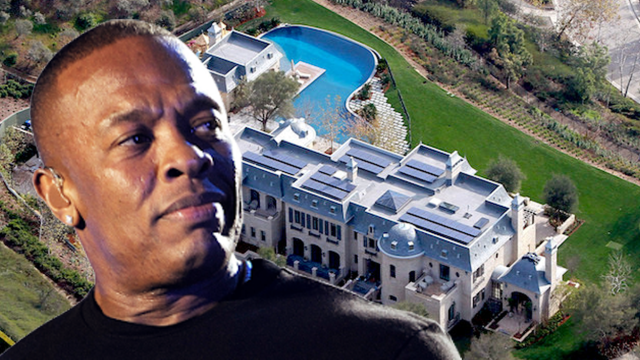 Dr Dre's house targeted by burglars while he remains in hospital