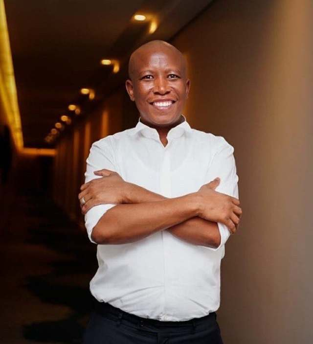 Julius Malema willing to be the first one to get COVID-19 vaccine