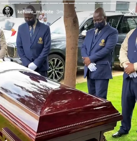 Watch: Influencer Kefilwe Mabote Dragged For Slaying And Posting Her Mom's Funeral