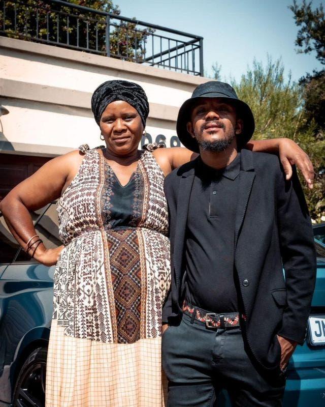 Kabza De Small shows love to his mum