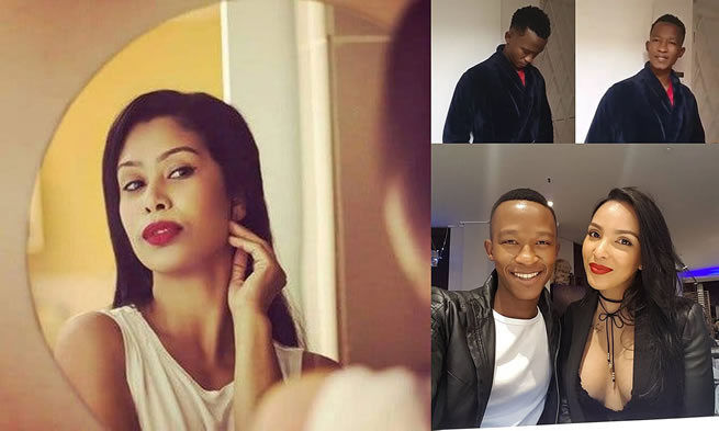 Watch Photos : Its over for Katlego Maboe as OUTsurance replaces him with popular actress