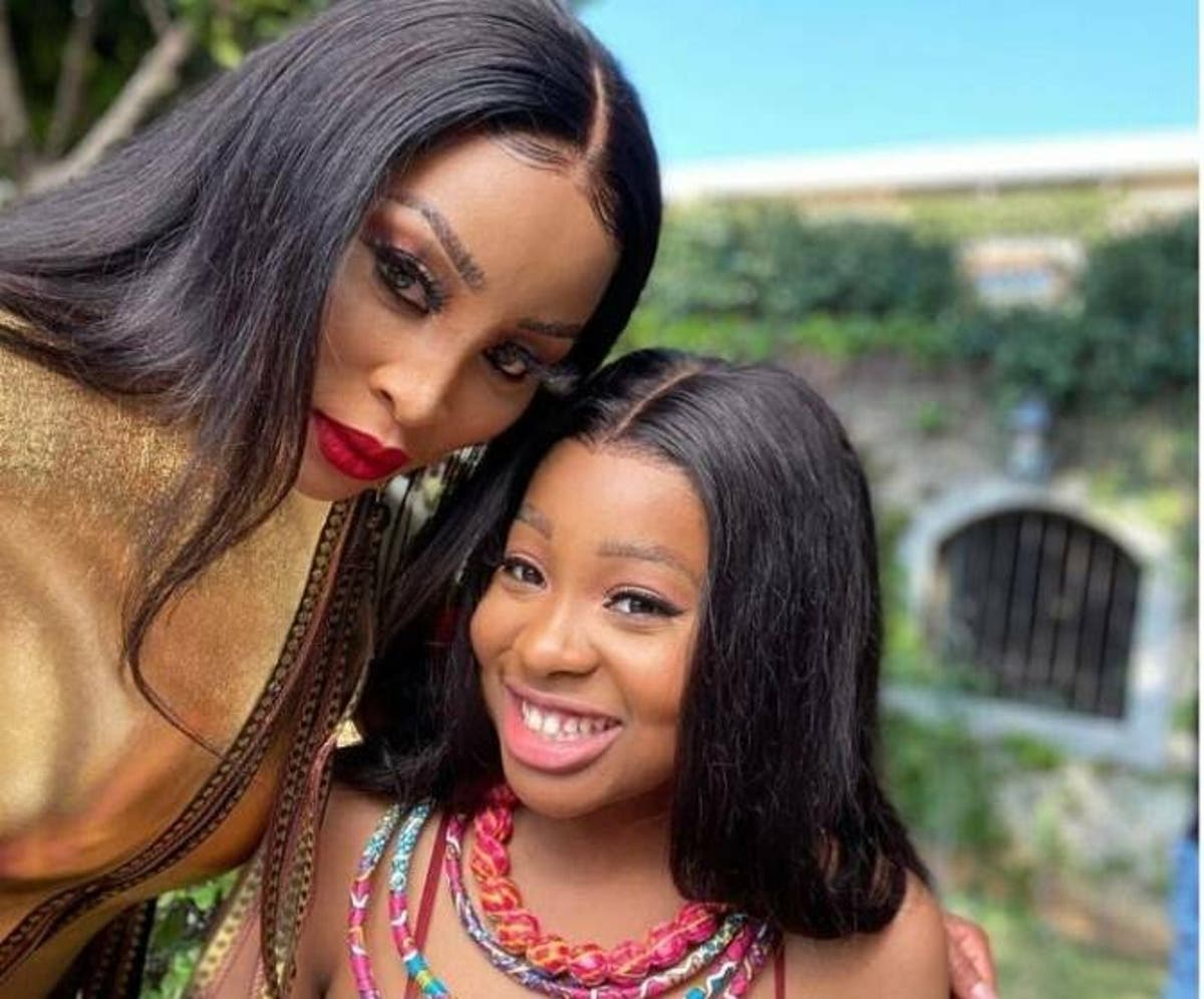 Pics: Khanyi Mbau and daughter serve mother daughter goals