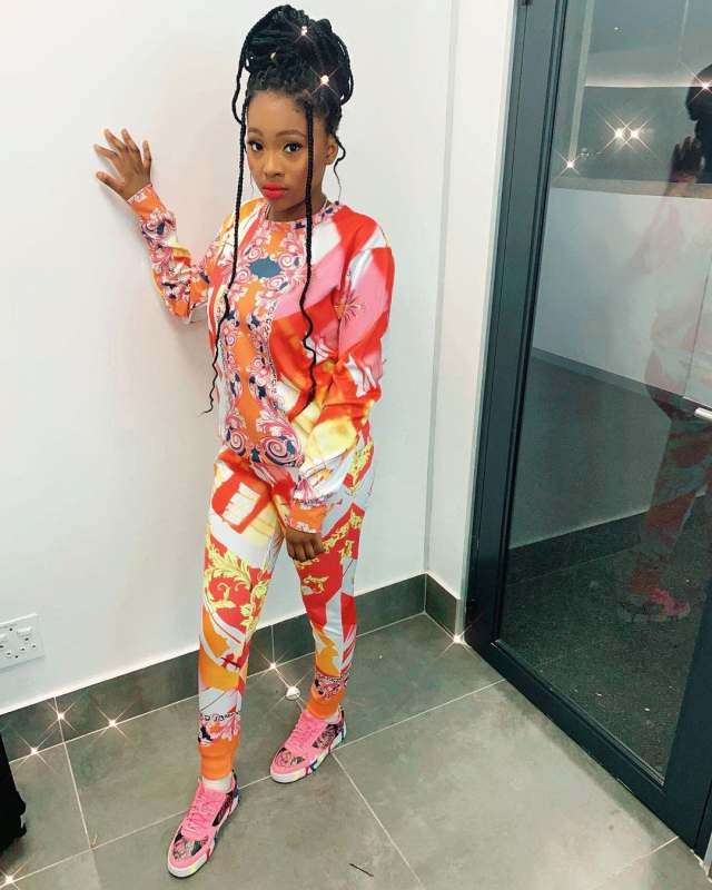Khanyi Mbau dragged for bleaching Daughter's skin