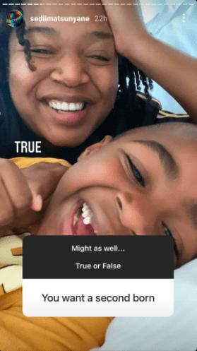 Connie Ferguson's daughter Lesedi Matsunyane reveals her relationship status