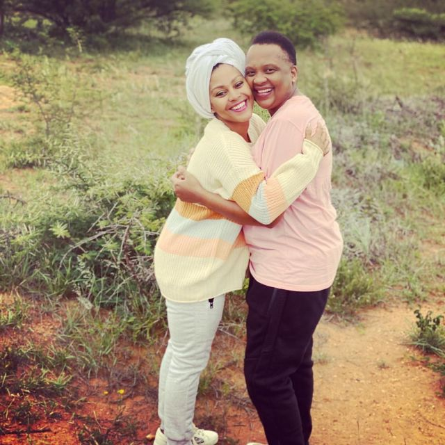 Letoya Makhene shares pictures of her most adorable moments with Lebo Keswa