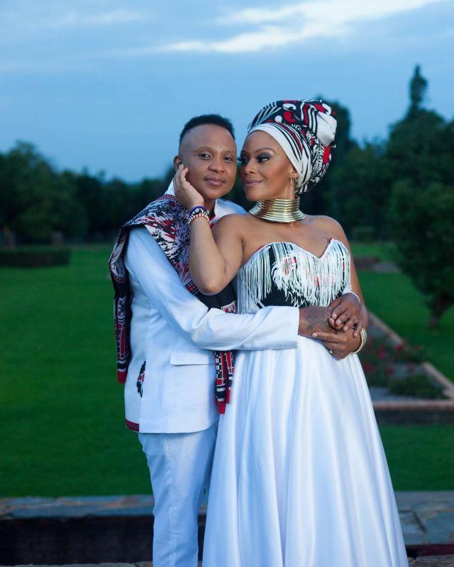 Photos: The Legacy actress Letoya Makhene and Lebo Keswa's traditional wedding