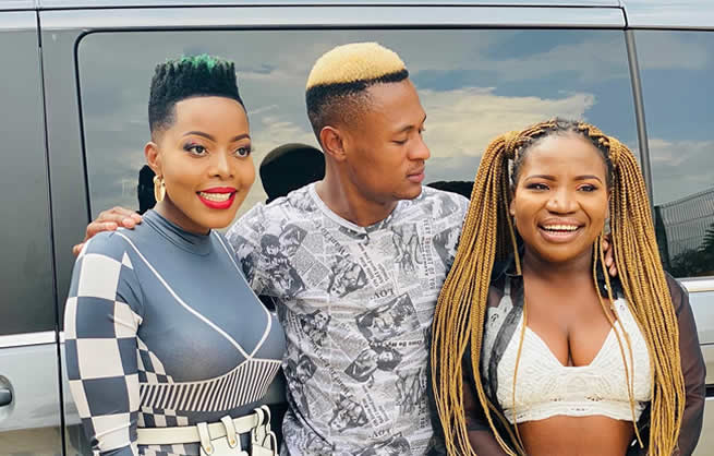 Nomcebo Zikode and Makhadzi celebrate as they dominate song of the year top picks