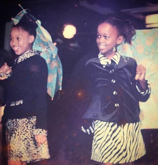 Minnie Dlamini's teenage pic wows Mzansi