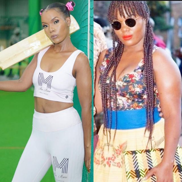 Watch: Mome Mahlangu stuns Mzansi with her before and after weight loss