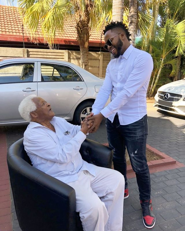 Nay Maps mourns the death of his Grandma a week after burying his Grandfather