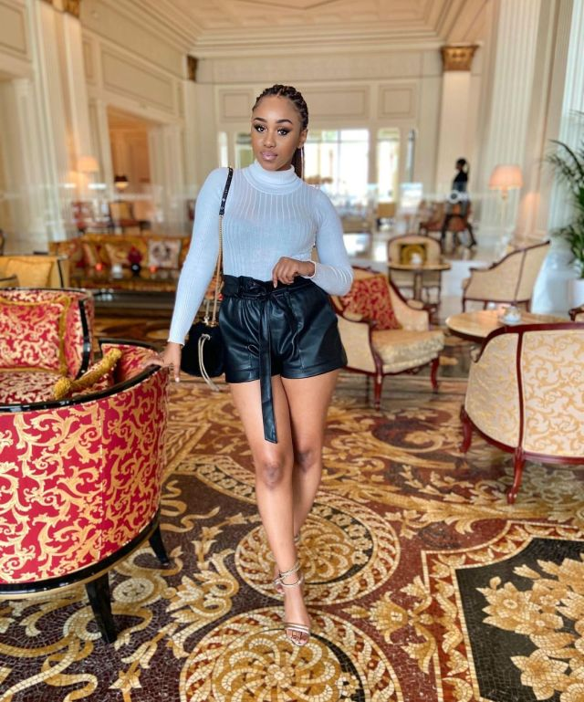 Pics: Getting to know Pearl Thusi's young sister PrunellaThusi