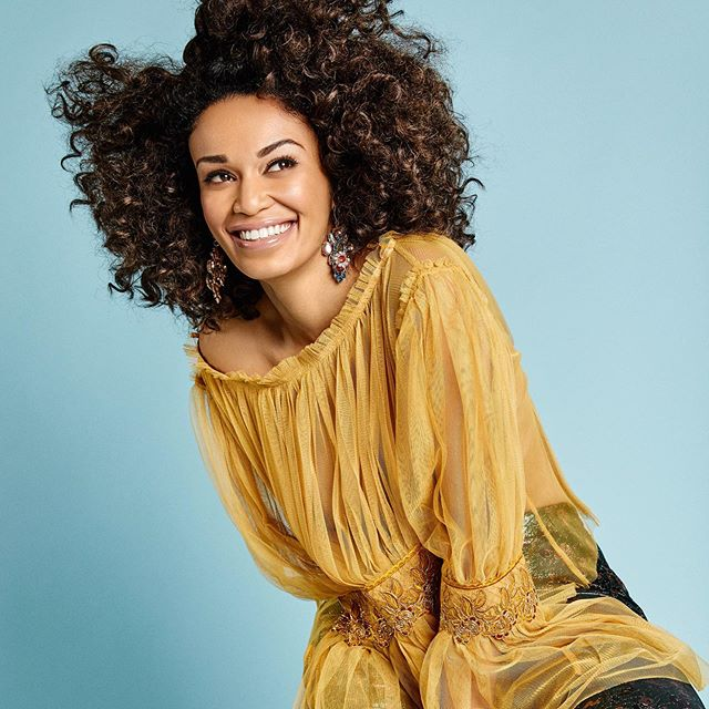 Photos: Pearl Thusi excited as she leaves South Africa