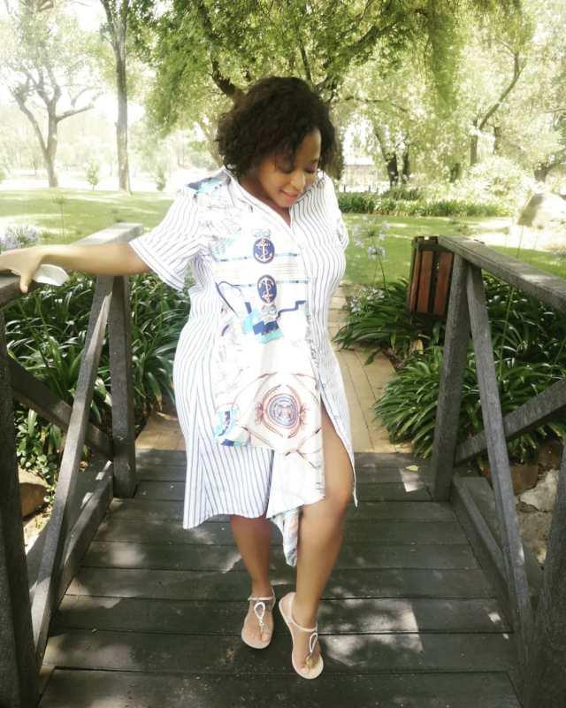 Watch: Skeem Saam's actress Pebetsi Matlaila expecting baby number 2