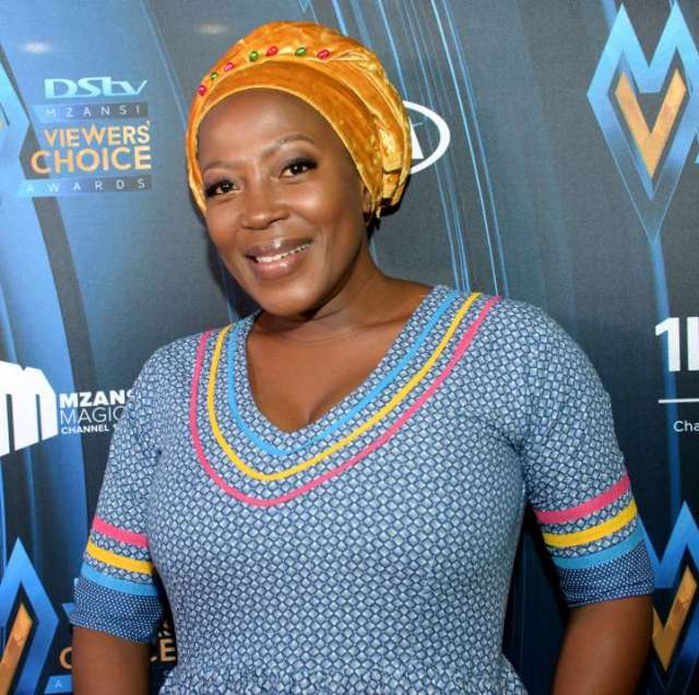 Actress Rami Chuene mourns the death of a loved one