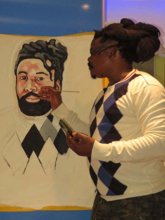 Mzansi responds to Rasta's portrait of Big Zulu