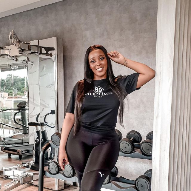 Sbahle Mpisane speaks on facing her fear of driving after being involved in a accident