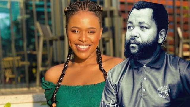Natasha Thahane in trouble for showing love to Sjava
