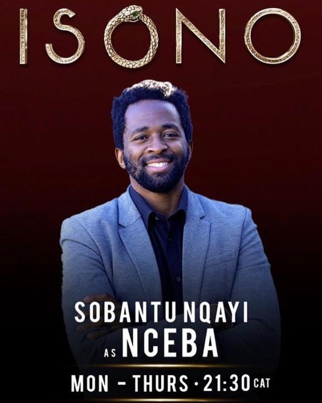 Sobantu Nqayi joins cast of Isono
