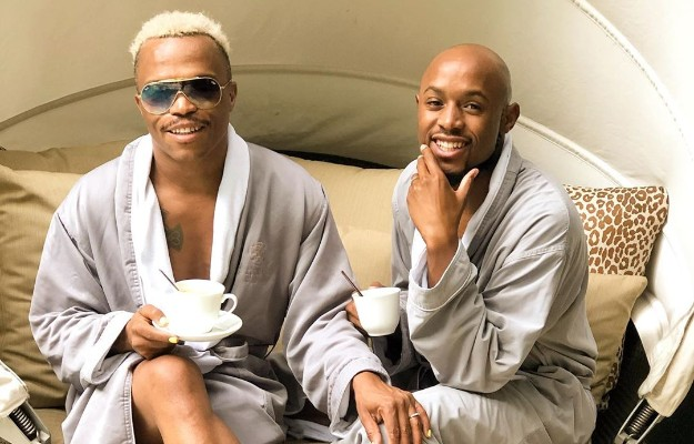 Somizi catches Mohale cheating with a rich married man, close friends reveals all