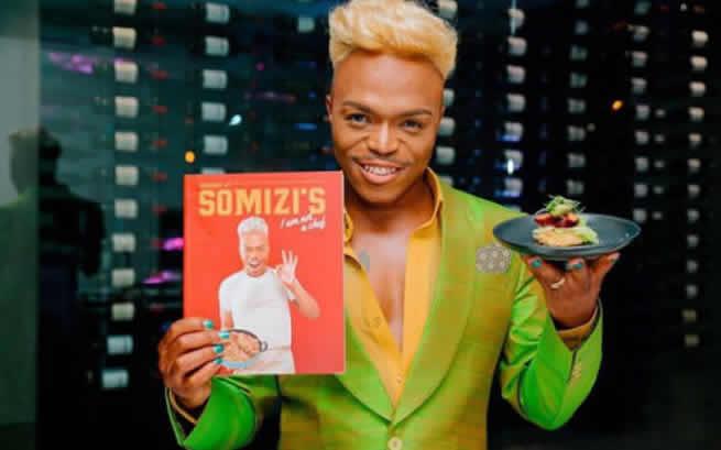 Somizi's cookbook becomes bestseller