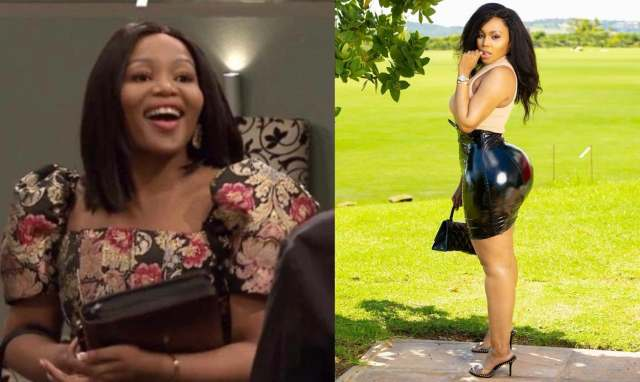 Muvhango's new actress Tebogo Thobejane opens up on how she makes money with her big B00TY