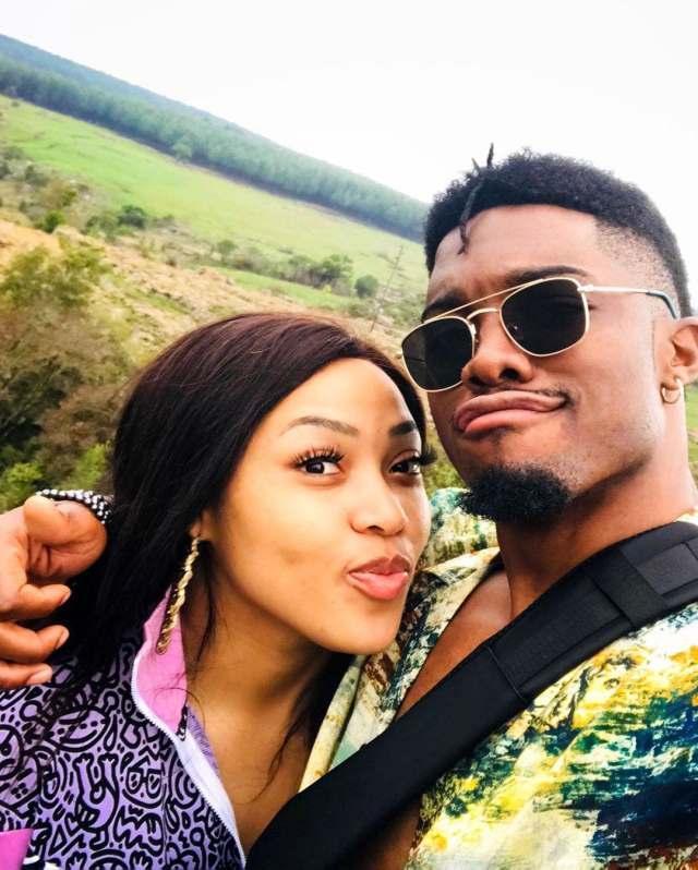 Pics: Tino Chinyani spoils sweetheart Simz Ngema