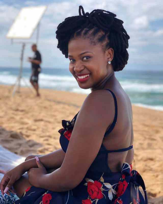 Zenande Mfenyana on struggles that comes with being a mother