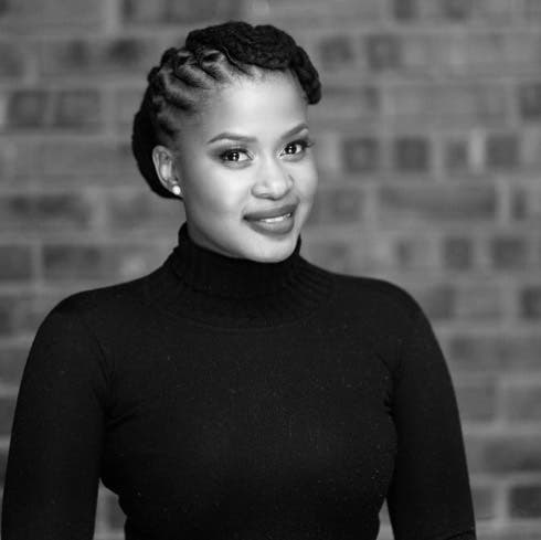 The Queen actress Zenande Mfenyana Gushes over her Hubby